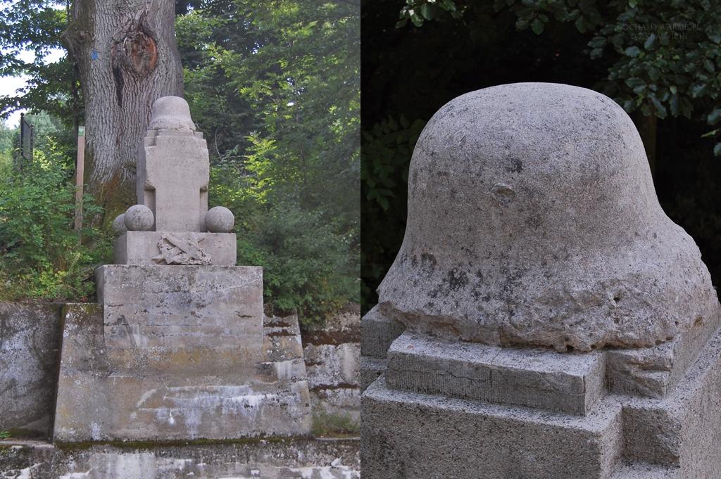 Liksajny, pomnik poległych flisaków