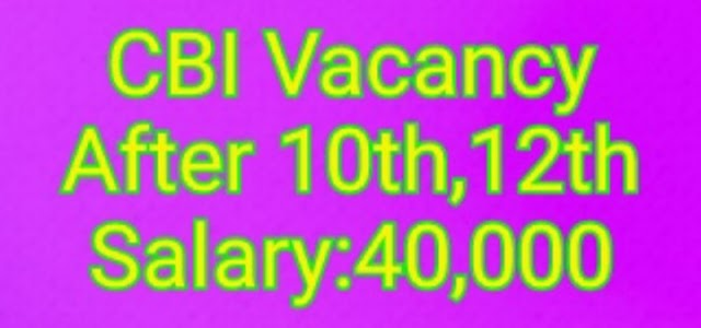 Cbi Recruitment 2020 Total Vacancy 4,000 Apply Online- All India Job