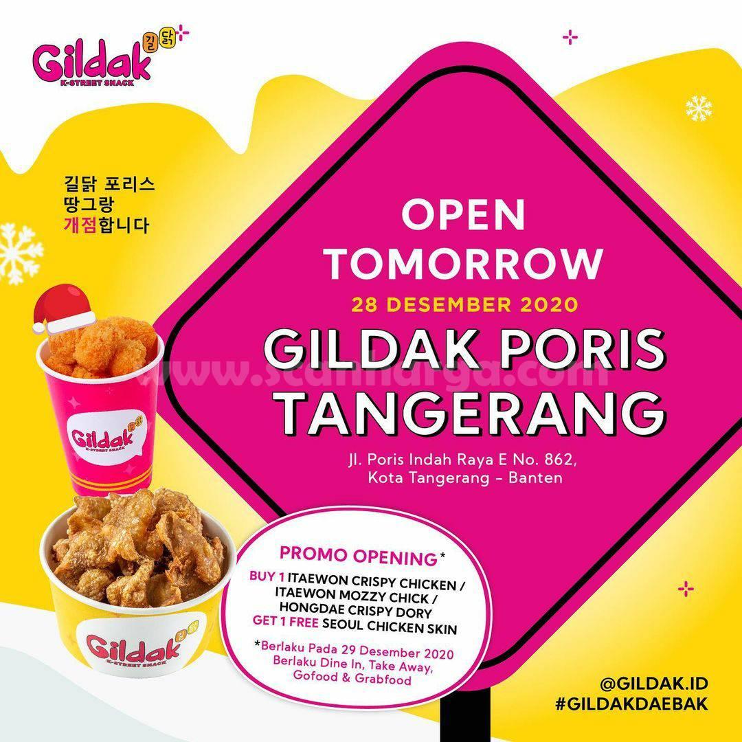 GILDAK PORIS TANGERANG Opening Promo Beli 1 GRATIS 1