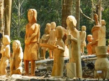 Kon Tum - Nghệ thuật tạc tượng gỗ dân gian