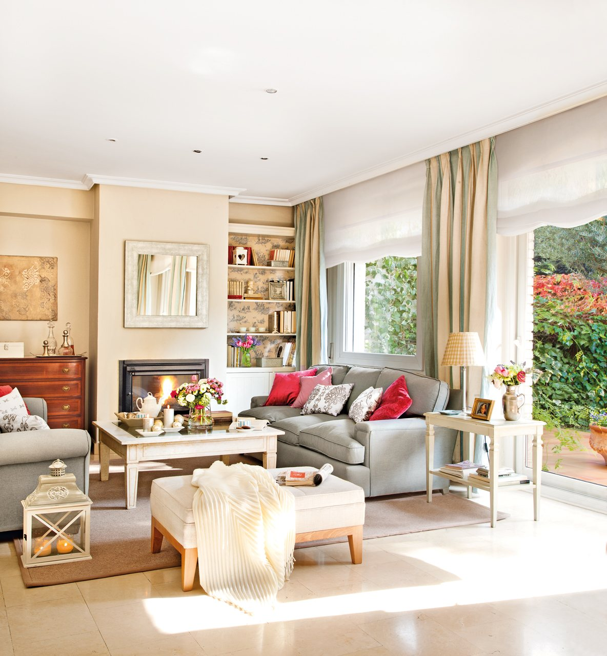 Monpetitnicolas salones cl sicos y bien decorados - Muebles para el salon ...