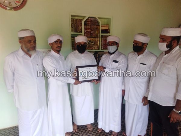 Kerala, News, SSF with condolences for Jabir Saadi, SSF