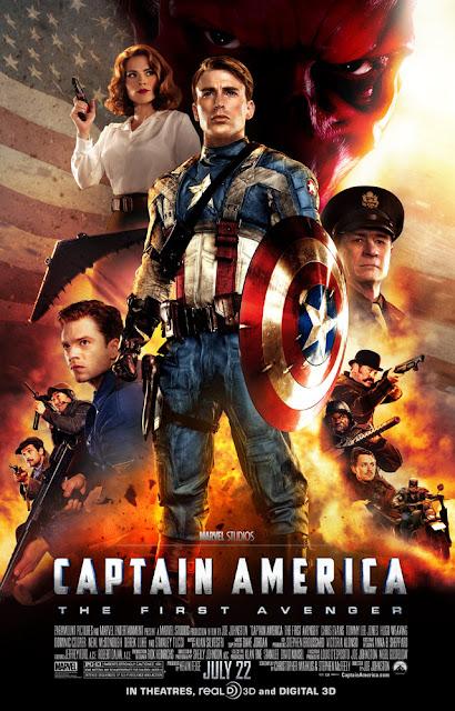 nuevo poster internacional de El Capitán América: El primer Vengador