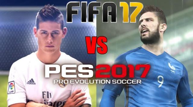 | Game Fifa 17 ou Pes17 |