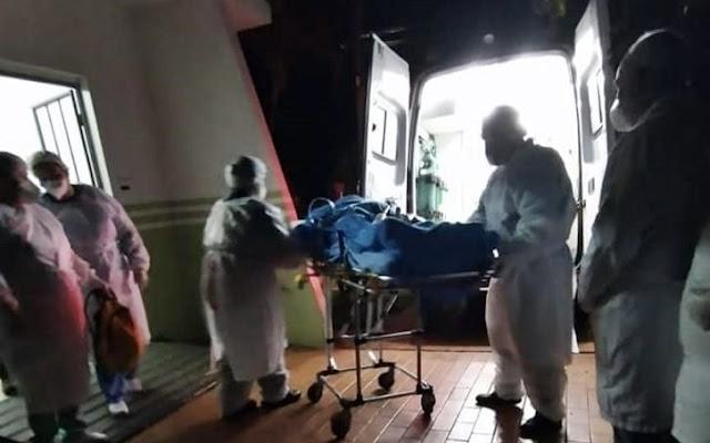 Paciente de Roncador é transferido para Hospital de Terra Boa com complicações da Covid-19