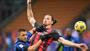 Hasil Pertandingan Serie A Italia AC Milan vs Inter Milan: Setan Merah Hancur Lebur