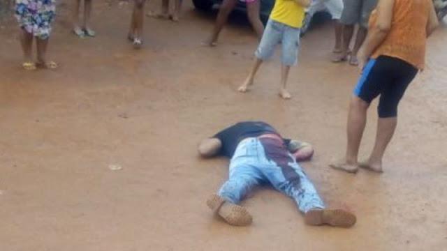Pelas costas! Homem é executado a tiros no centro de Porto Velho