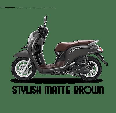 Scoopy ESP stylish black 2020 Anisa Naga Mas Motor Klaten Dealer Asli Resmi Astra Honda Motor Klaten Boyolali Solo Jogja Wonogiri Sragen Karanganyar Magelang Jawa Tengah.