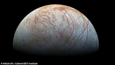 NASA: Αποκαλύψεις για ανακάλυψη στο φεγγάρι Ευρώπη