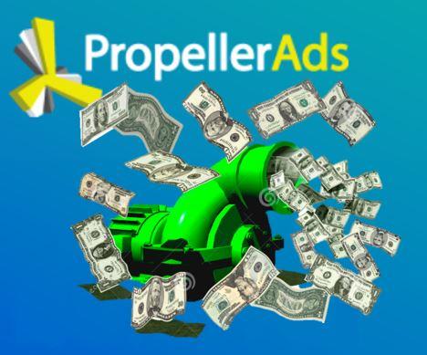 申請PropellerAds開始把流量變現金!