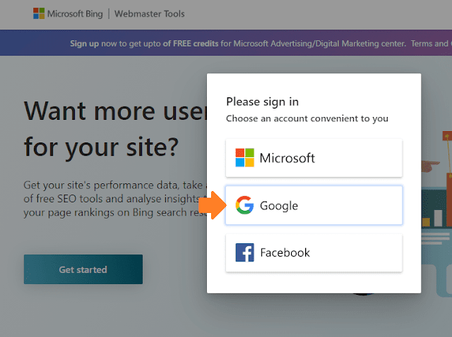 How To Connect Website To Bing Webmaster Tools | Bing Search Console 2