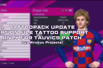 New Option File For T99 Patch #13-07-2019 - PES 2017