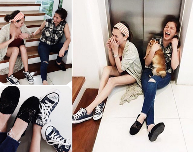 LOOK: Angel Locsin and Angelica Panganiban are single and happy.