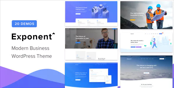 Exponent WordPress is available on ThemeForest Exponent v1.0.2 – Modern Multi-Purpose Business Theme Download
