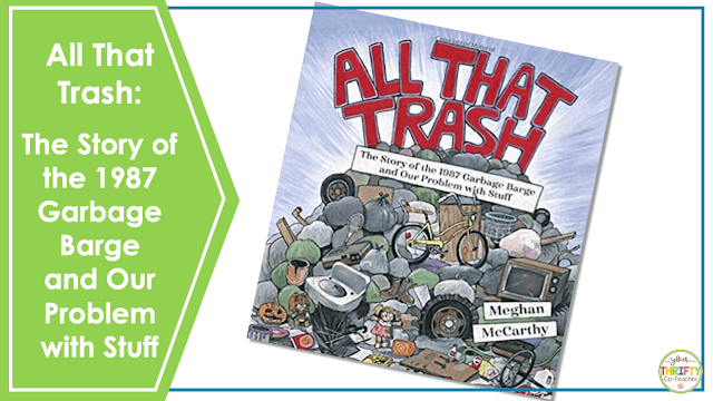 Looking for Earth Day books for upper elementary? Check out All That Trash: The Story of the 1987 Garbage Barge and Our Problem with Stuff.