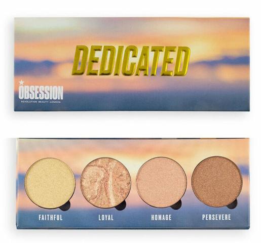 Paleta iluminatoare Makeup Obsession Dedicated Highlighter Palette, 10 g