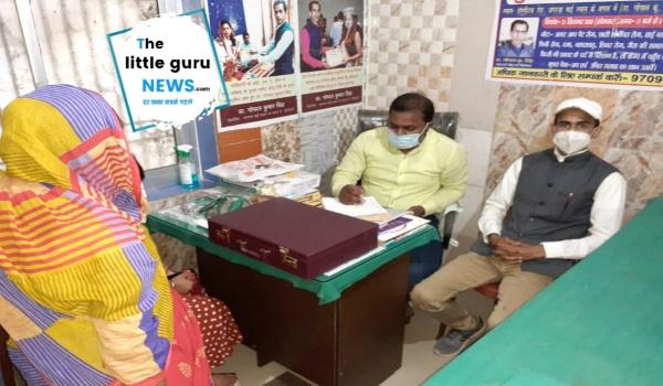 फ्री मेडिकल कैम्प में डॉ सुशील कुमार एवं डॉ गोपाल कुमार सिंह के द्वारा 50 से अधिक मरीजों का हुआ चेकअप