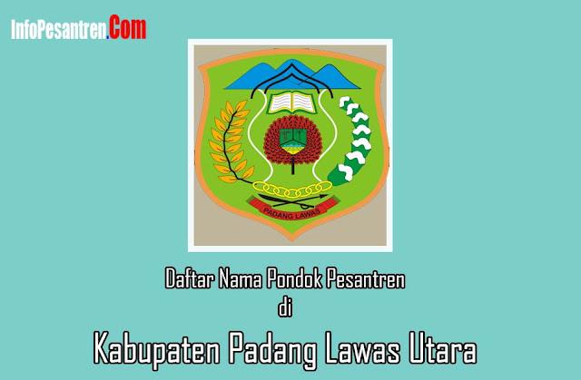 Pesantren di Kabupaten Padang Lawas Utara