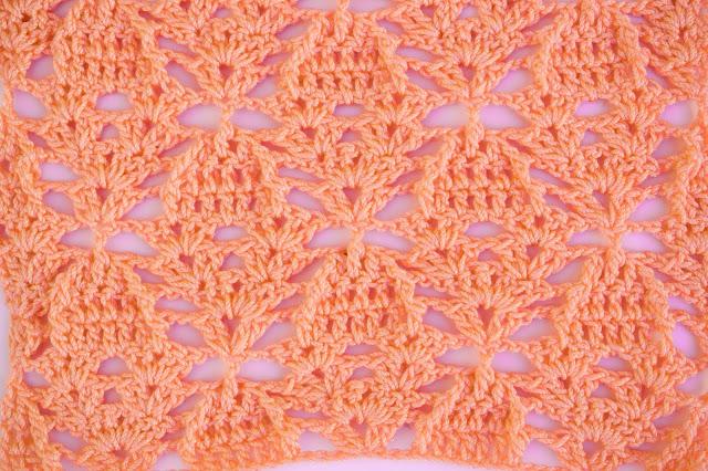 4 - Crochet Imagenes Puntada de piñas a relieve a crochet y ganchillo por Majovel Crochet