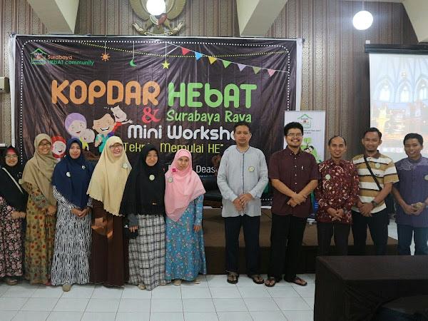 Halal Bi Halal Ala Komunitas HEBAT  Surabaya Raya