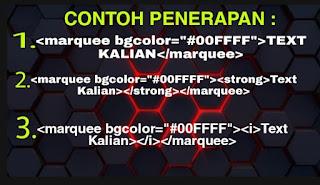 Kode html warna