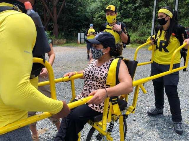 SP realiza passeio inclusivo para pessoas com deficiência no Parque Estadual Caverna do Diabo