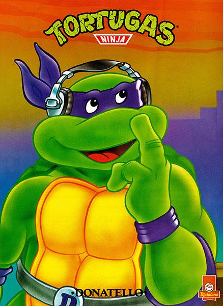 Póster Las Tortugas Ninja nº 1