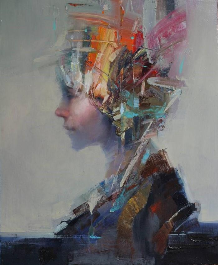 Южнокорейский художник.
