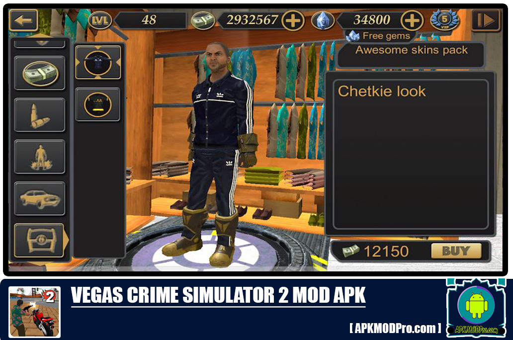 Download Vegas Crime Simulator 2 MOD APK