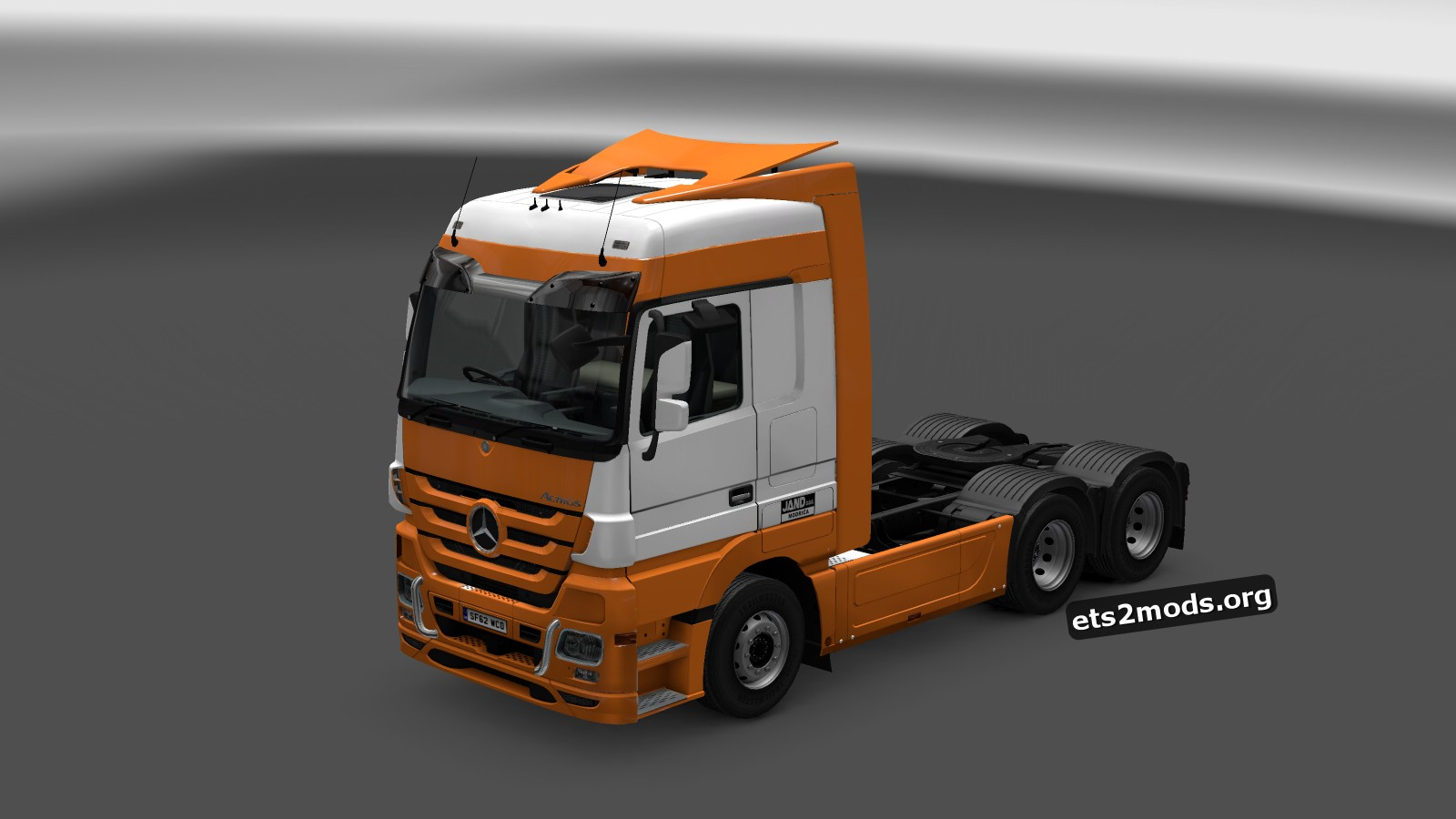 Jand Skin for Mercedes MP3