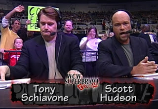 WCW Superbrawl Revenge 2001 - Tony Schiavone & Scott Hudson called the event