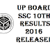 UP Board 10th Result 2016 – UP Class 10th Results 2016, upresults.nic.in