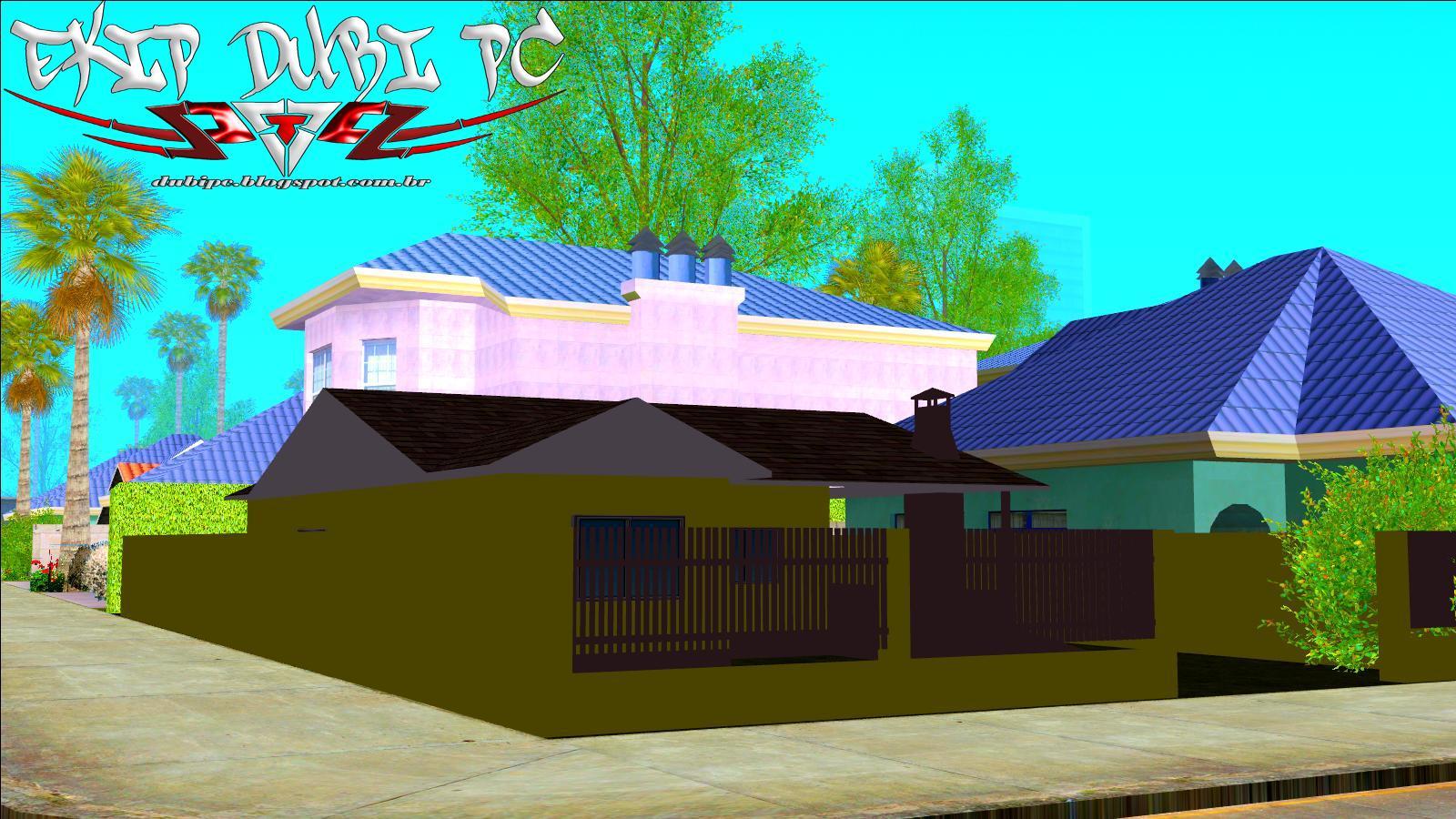 Gta san casa simples com garagem by lukinhas013 ekip for Casa moderna gta sa