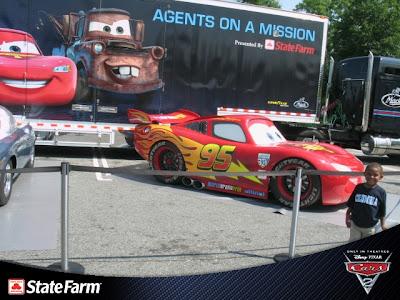 Disney Cars Parking Garage