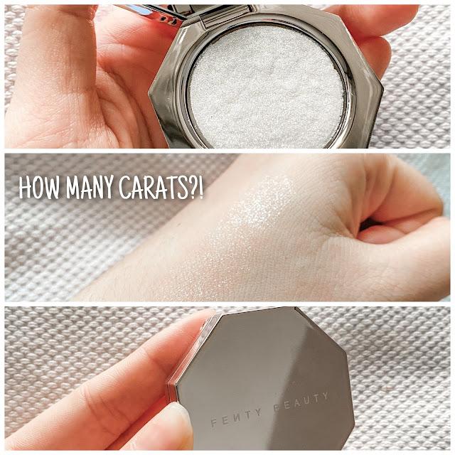 fenty how many carats