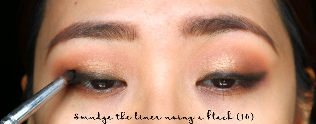 Simple Daytime Smokey Makeup Tutorial using ELF Mad for Matte Palette