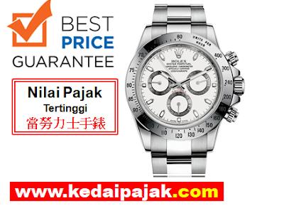 Pajak Rolex Daytona Dengan RM32,000 - kedaipajak.com