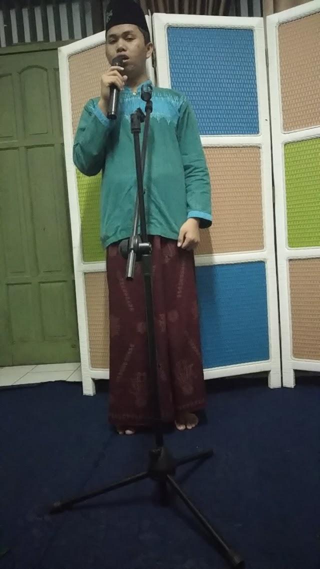 Kelas Public Speaking (Khitobah) Santri Anamfal