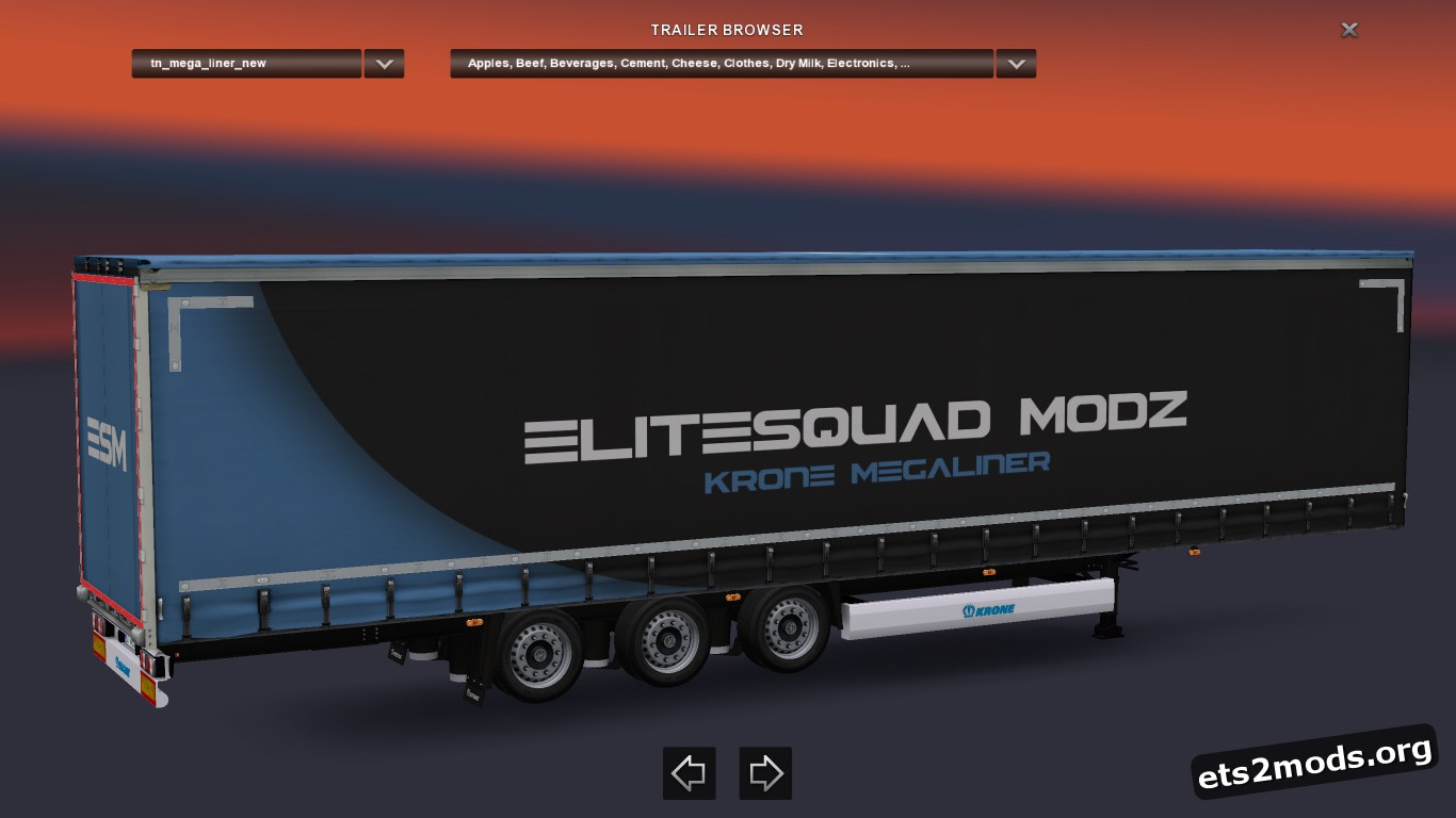 Trailer Krone Megaliner