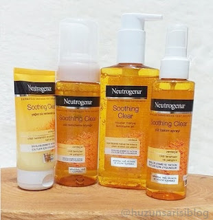 Neutrogena Soothing Clear Serisi