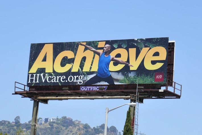 Achieve HIV care billboard
