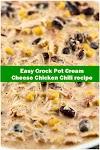 #Easy #Crock #Pot #Cream #Cheese #Chicken #Chili #recipe