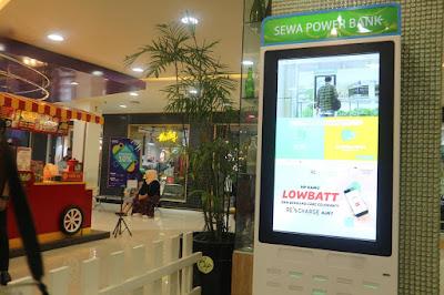 station sewa powerbank recharge di bandung