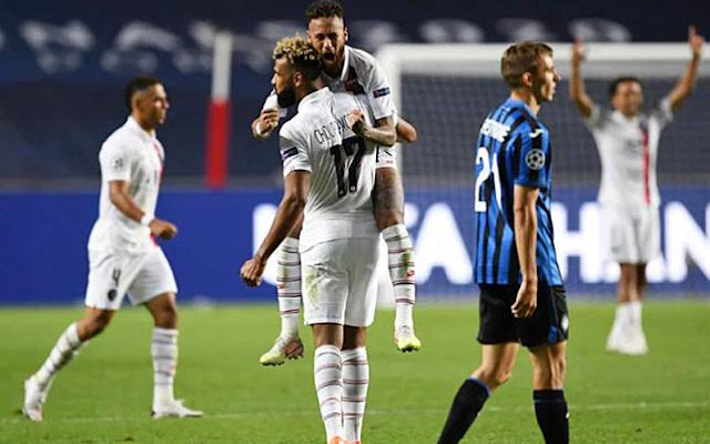 Atalanta Vs PSG, Gaji Rp 625 Miliar Neymar Wujud Pembeda Kedua Tim