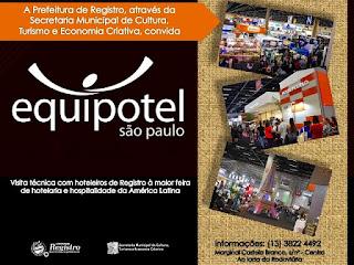Prefeitura de Registro-SP organiza visita técnica à Equipotel São Paulo