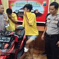 Beraksi di Jalan Kenjeran Surabaya, Kaki Pelaku Curanmor Ditembak Polisi