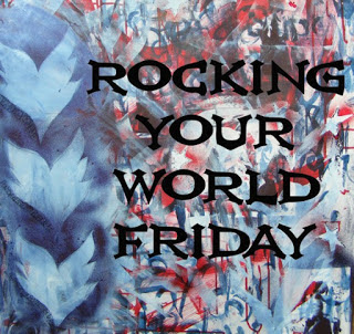 Rocking Your World Friday - Art by Virginia Hoskings