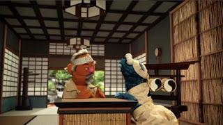 Cookie's Crumby Pictures The Biscotti Kid, Mr. MiCookie, Biscotti Karate, Cookiesan, Sesame Street Episode 4412 Gotcha season 44