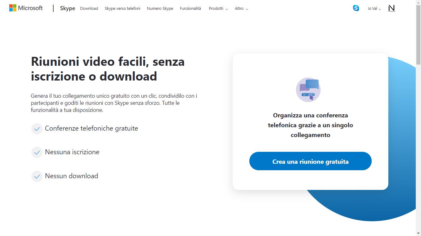 Coronavirus-utilizzare-Skype-videoconferenza