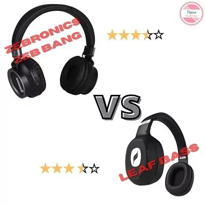 Zebronics zeb bang vs Leaf bass | Which is best wireless heaphones to buy